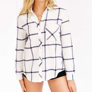 BDG Urban Outfitters Flannel Button Down